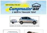 Campmaster Inflatable Trailer Tent
