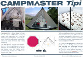 Campmaster Tipi trailer tent brochure download
