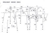 Sunncamp Holiday 400 Awning Diagram