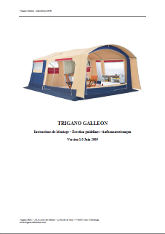 Trigano Galleon Instructions