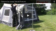 Camp-let Sun Canopy Premium Video