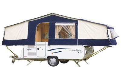 Trigano Radnger 575 LX 6 person folding camper