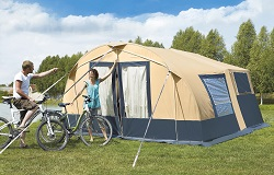 Camplair S Trailer Tent with weekend awning