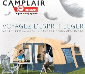 Camplair budget trailer tents made by Trigano