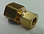 Copper Pipe Coupling - 8mm to 1/4 Female BSP