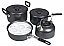 Kampa Gastro 3 pan camping cook set with kettle