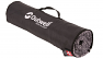 Integral packing sleeve keeps the carpet neat and tidy