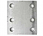 6 Hole Metal Drop Plate - 4 Inch