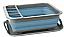 Pop folding dish drainer