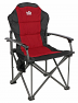 Royal Commander folding aluminium camping chair in Red colour