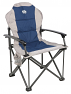 Royal Commander folding aluminium camping chair in Blue colour