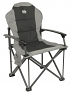 Royal Commander folding aluminium camping chair in black colour