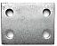 Metal Drop Plate - 2 Inch