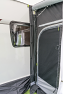 Securely seal the side wall of your awning to the Caravan