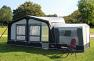 CAmptech tall annex fitted to Camptech Eleganza awning