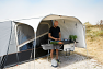 Camp-let Passion with OPTIONAL kitchen sun canopy and extension table