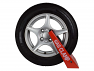 Fits to steel and alloy wheel