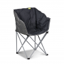 Kampa Tub Chair in Black / Charcoal colour scheme