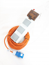 Sunncamp Camping Mains kit with 3 sockets and 20m cable