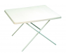 Sunnflair Small Plastic Camping Table Whita