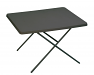 Large grey plastic dual height table