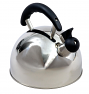 Sunncamp Rapport stainless steel camping kettle with large 1.6L capacity and whistling spout