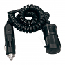 Leisurewize 9ft Coiled Lead Adapter with LED power indicator