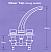 Whale Elegance Long Stem Mixer Dimensions