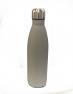 B&Co 500Ml Bottle Flask Rubberised Grey Finish