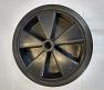 Hard Plastic Jockey wheel 245mm x 75mm