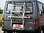 No drilling bike carrier for Ford Transit with lifting tailgate