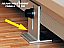Adjutsbale height from the floor