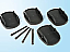 Kit of 4 pads for caravan legs