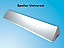 Universal motorhome vent spoiler can be adjusted in length