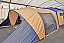 Detachable Awning - The awning can be removed to enable the cabin section to be used independently
