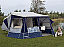 Ideal trailer tent for the family who loves a little extra family comfort. Easily accommodating a family of 4