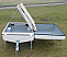 The bed boards of the CampMaster can be lifted to reveal a massive 500 litre storage space, for camping equipment