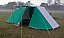 CampMaster 4. Erected Size 3 x 6.3m plus side canopy