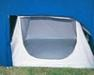 It is possible to fit a single guest inner tent under each double bed