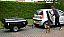 Campmaster can be towed easily by even the smallest cars