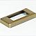 Slimline socket frame