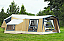 Camp-let Adventure shown with optional side annexe and extension awning