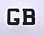 Driving abroad GB sticker