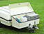 Camp-let Luggage locker for braked and un-braked trailers