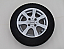 Single 13 inhc alloy wheel supplied with tyre