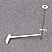 Rear bed leg with R clip