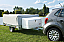 Small and compact trailer for easy towing