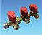 3 way gas isolator valve