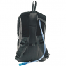 Easy Camp Ghost 20 rucsac with contoured straps and hydration tube outlet - Black version shown