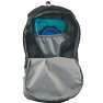 Easy Camp Ghost 20 is compatible with hydration bladder - Black version shown